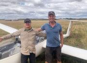 Ian and David new solo pilots